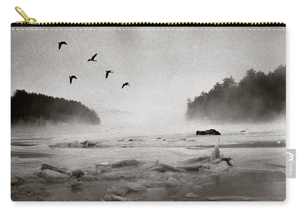 Geese Over Great Bay Carry-all Pouch