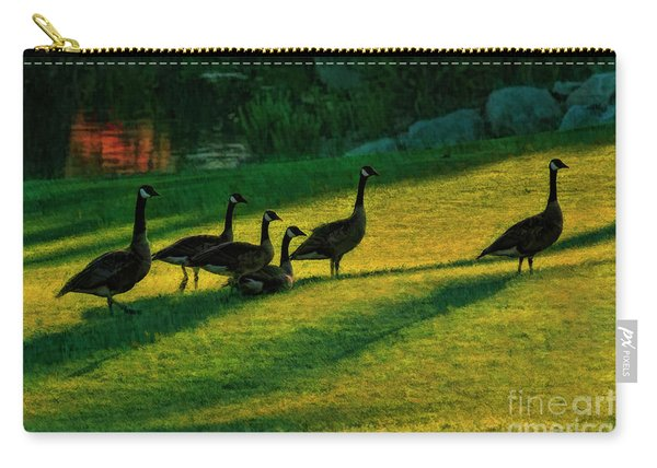 Geese The Perfect Pattern Carry-all Pouch
