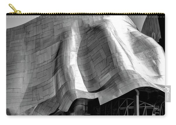 Carry-all Pouch featuring the photograph Gehry Emp Seattle by Michael Hope