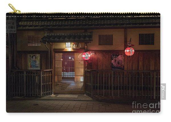Geisha Tea House, Gion, Kyoto, Japan Carry-all Pouch