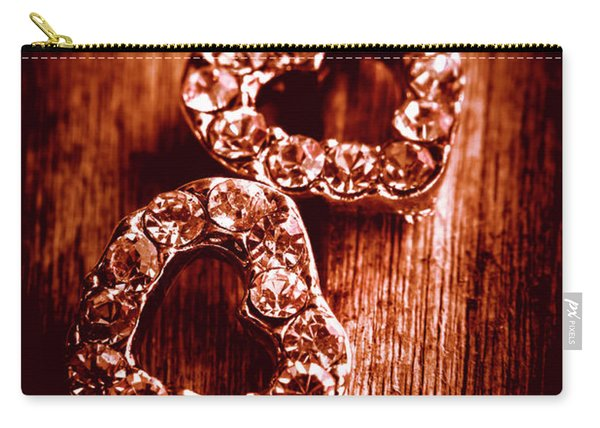 Gems Of Fashionable Romance Carry-all Pouch