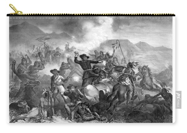 General Custer's Death Struggle  Carry-all Pouch