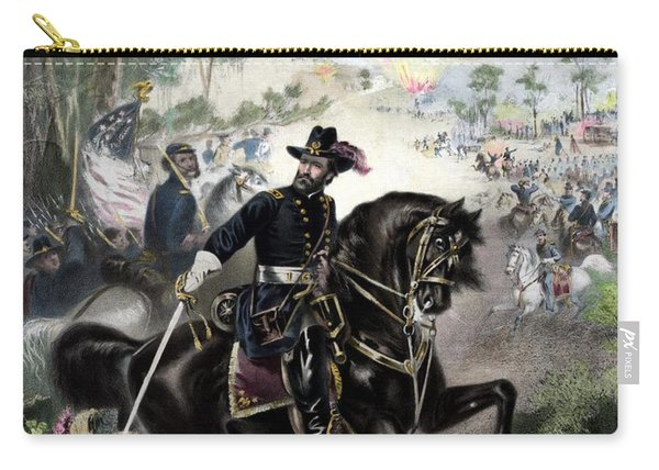 General Grant During Battle Carry-all Pouch