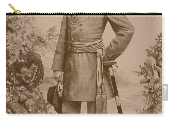 General Robert E. Lee Standing Carry-all Pouch