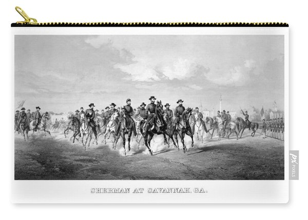 General Sherman At Savannah Carry-all Pouch