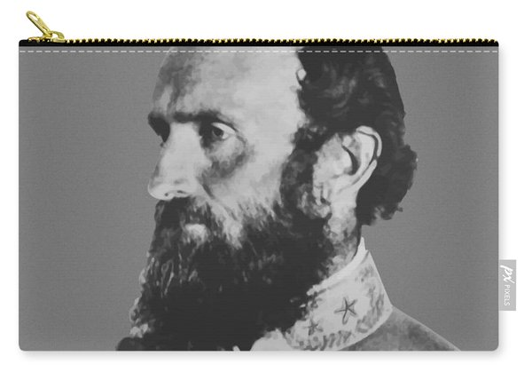General Stonewall Jackson Profile Carry-all Pouch