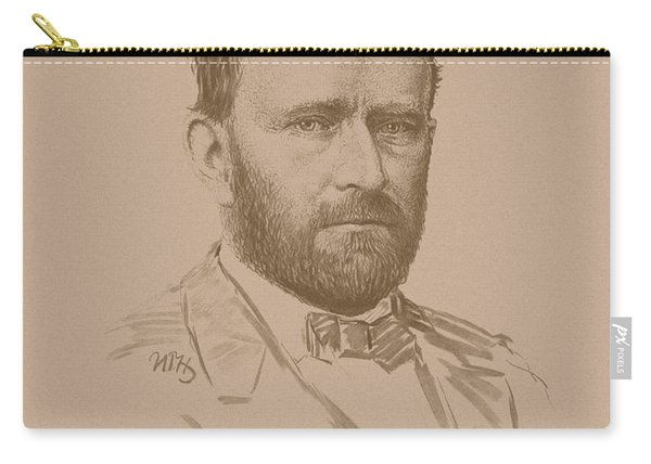 General Ulysses S Grant Carry-all Pouch