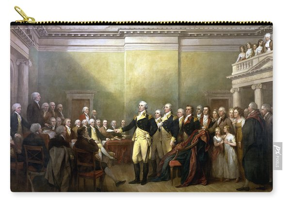 General Washington Resigning His Commission Carry-all Pouch