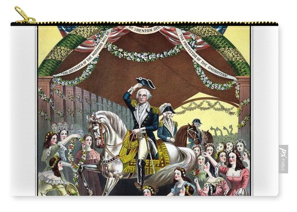 General Washington's Reception At Trenton Carry-all Pouch