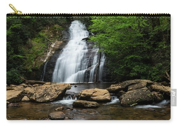 Gentle Waterfall North Georgia Mountains Carry-all Pouch