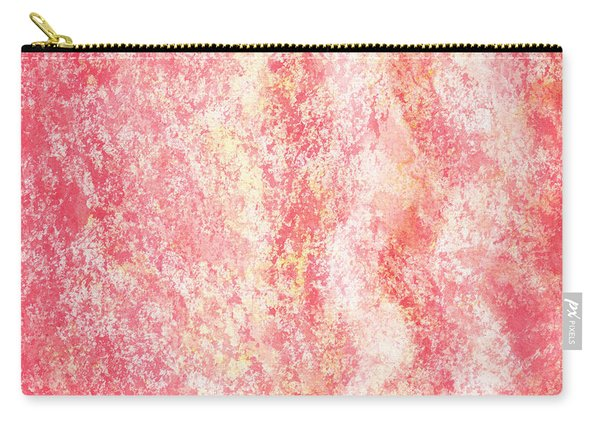 Gentle Wave Pink Abstract Carry-all Pouch