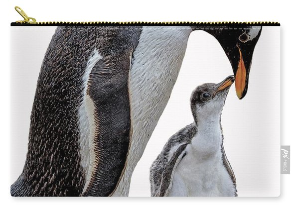 Gentoo Penguins Carry-all Pouch