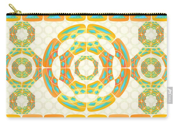 Geometric Composition Carry-all Pouch