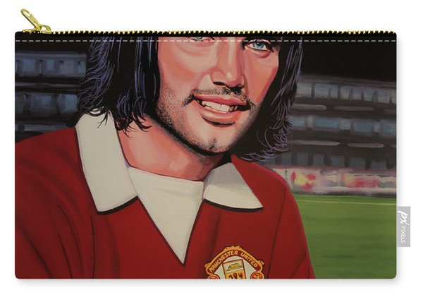 George Best Painting Carry-all Pouch