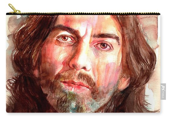 George Harrison Portrait Carry-all Pouch