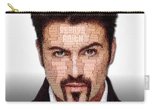 George Michael Tribute Carry-all Pouch