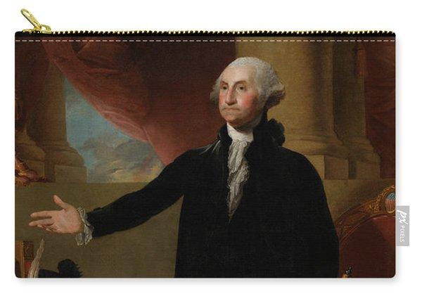 George Washington Lansdowne Portrait Carry-all Pouch