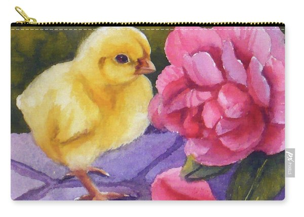 Georgia And The Rose Carry-all Pouch