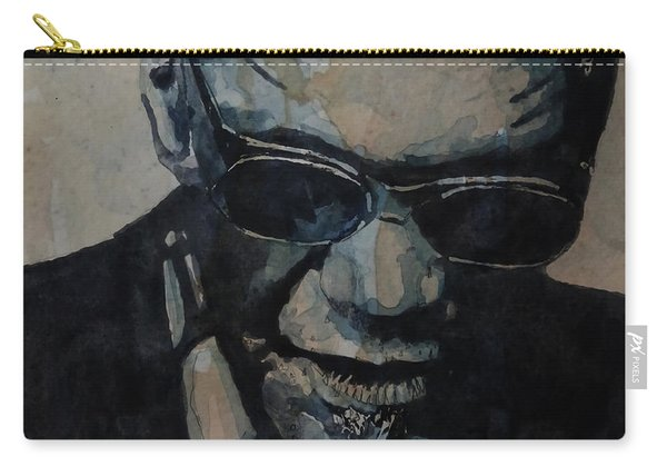 Georgia On My Mind - Ray Charles  Carry-all Pouch