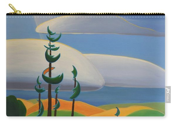 Georgian Shores - Right Panel Carry-all Pouch