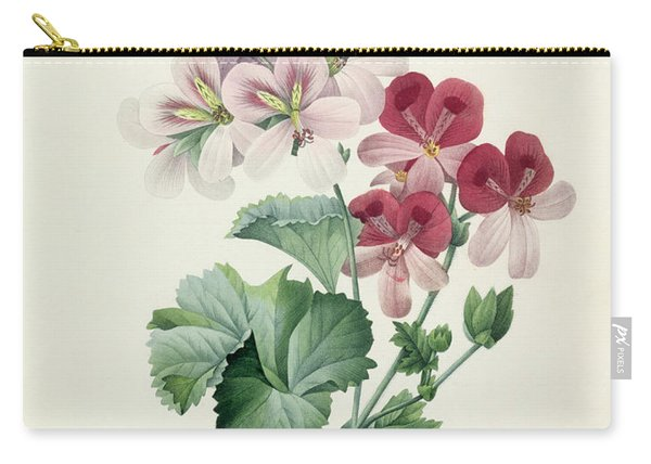 Geranium Variety Carry-all Pouch