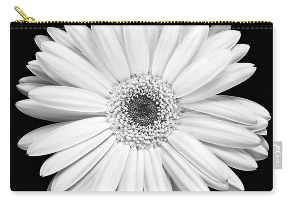 Single Gerbera Daisy Carry-all Pouch