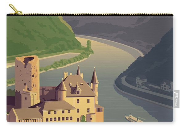 Germany Retro Poster Carry-all Pouch