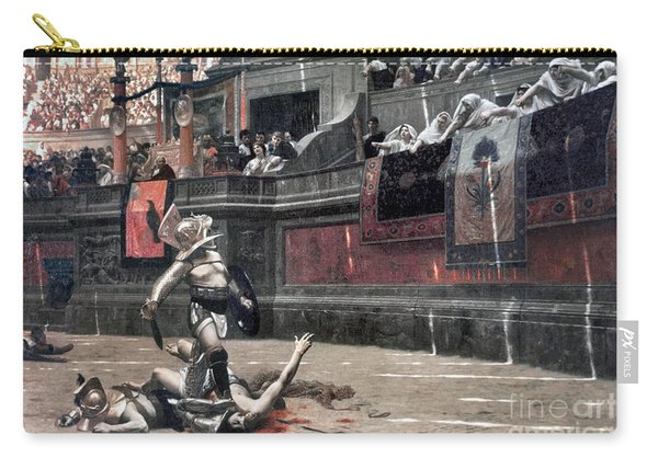 Gerome: Gladiators, 1874 Carry-all Pouch