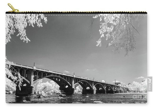 Gervais Street Bridge In Ir1 Carry-all Pouch