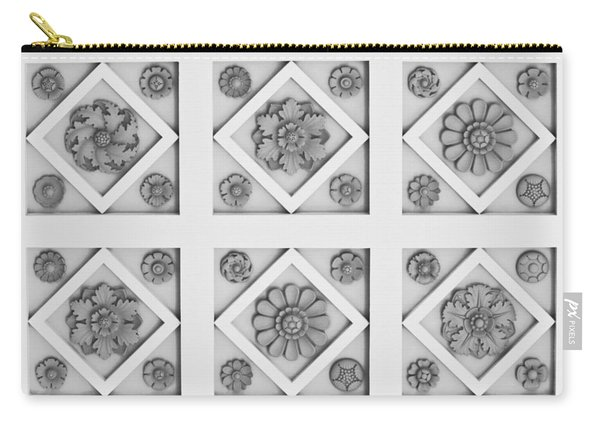 Getty Villa Coffered Peristyle Ceiling Carry-all Pouch