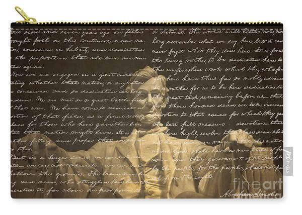 Gettysburg Address Carry-all Pouch