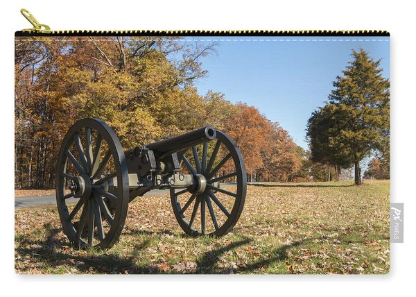 Gettysburg - Cannon In East Cavalry Battlefield Carry-all Pouch