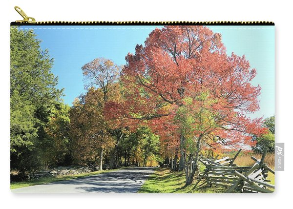 Gettysburg  In The  Fall Carry-all Pouch
