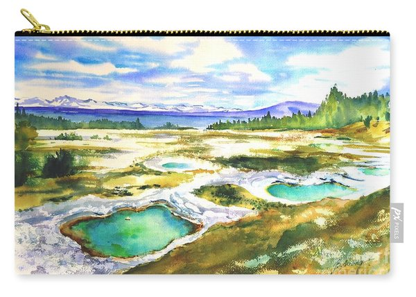 Geyser Basin, Yellowstone Carry-all Pouch