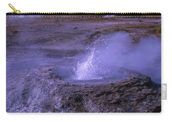 Geyser Cone, Iceland Carry-all Pouch