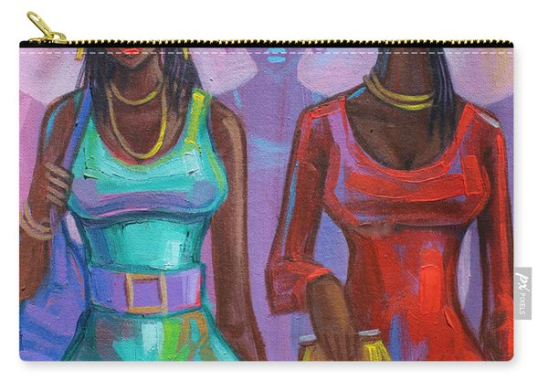 Ghana Ladies Carry-all Pouch