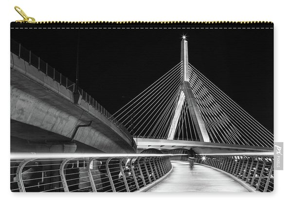 Ghost Rider At Zakim Bridge Carry-all Pouch