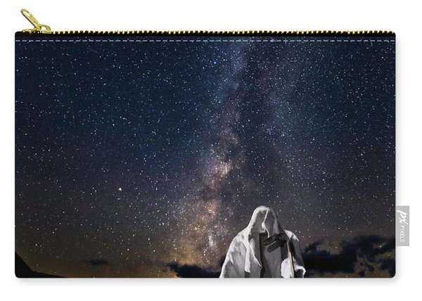 Ghost Rider Under The Milky Way. Carry-all Pouch