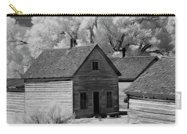 Ghost Town Bannack, Mt  Carry-all Pouch