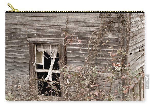 Ghostly Abndoned House Carry-all Pouch