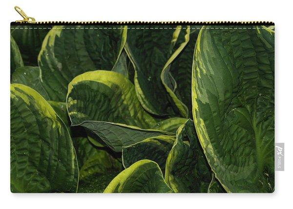 Giant Hosta Closeup Carry-all Pouch
