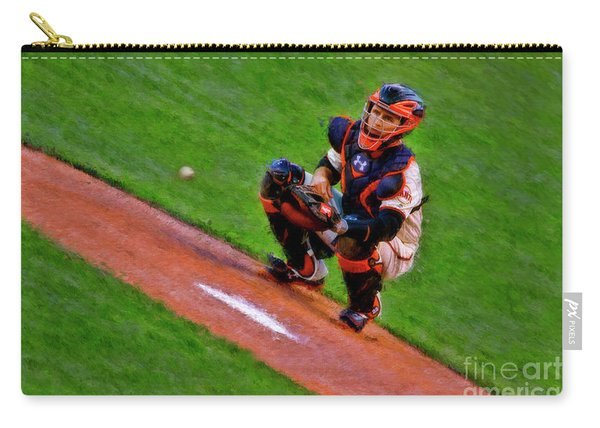 Giants Buster Posey Gets Fast Ball Carry-all Pouch