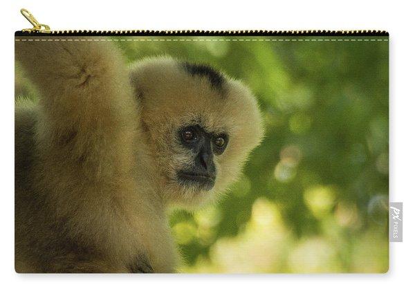 Gibbon Portrait Carry-all Pouch