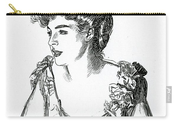 Gibson Girl, 1902 By Charles Dana Gibson Carry-all Pouch