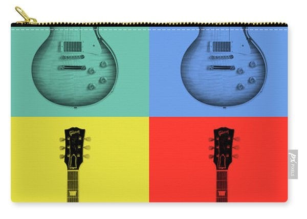 Gibson Guitar Pop Art Carry-all Pouch