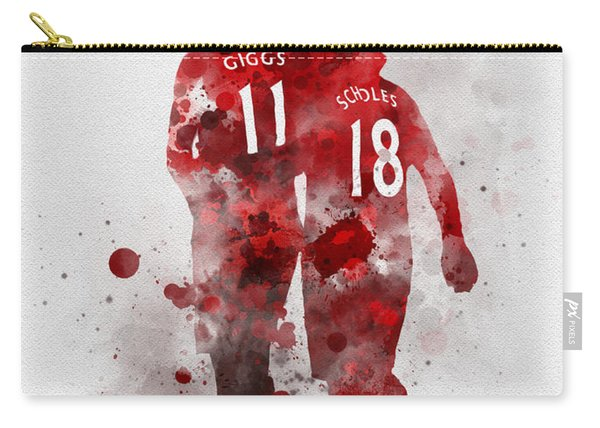 Giggsy And Scholesy Carry-all Pouch
