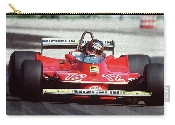 Gilles Villeneuve, Ferrari Legend - 01 Carry-all Pouch