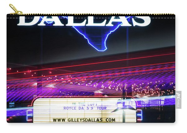 Gilley's Dallas V3 Carry-all Pouch