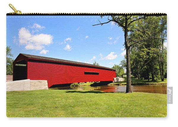 Gilpin's Falls Covered Bridge Carry-all Pouch