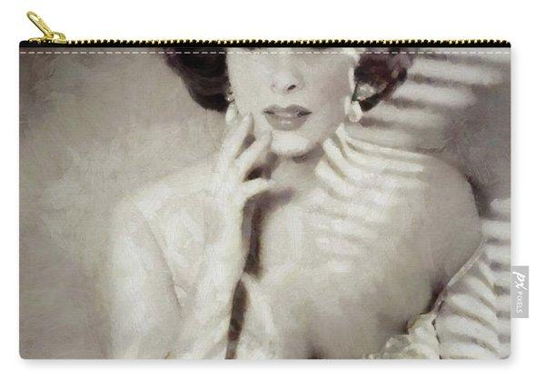 Gina Lollobrigida, Actress Carry-all Pouch